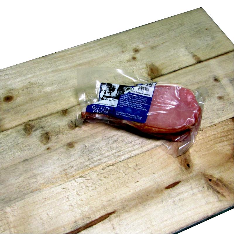 Smoked Oak Back Bacon (1lb) 0.454kg