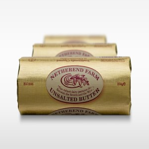 Unsalted Netherend Butter 250g