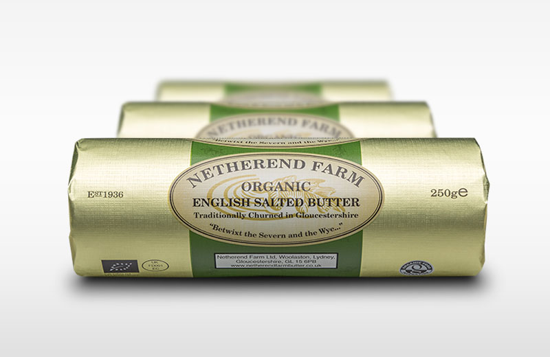 Organic Lightly Salted Netherend Butter 250g **Organic**