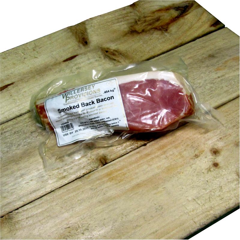 Smoked Back Bacon (1lb) 0.454kg