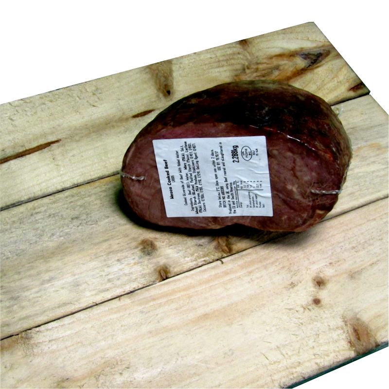 cooked deli beef joint