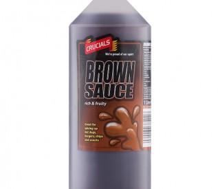 1ltr Crucial Brown Sauce