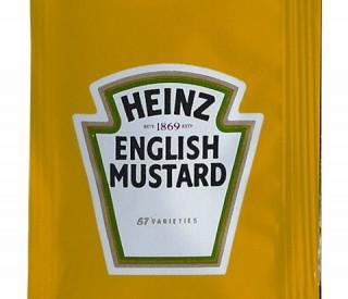 Heinz English Mustard Sachets 200 x 7g