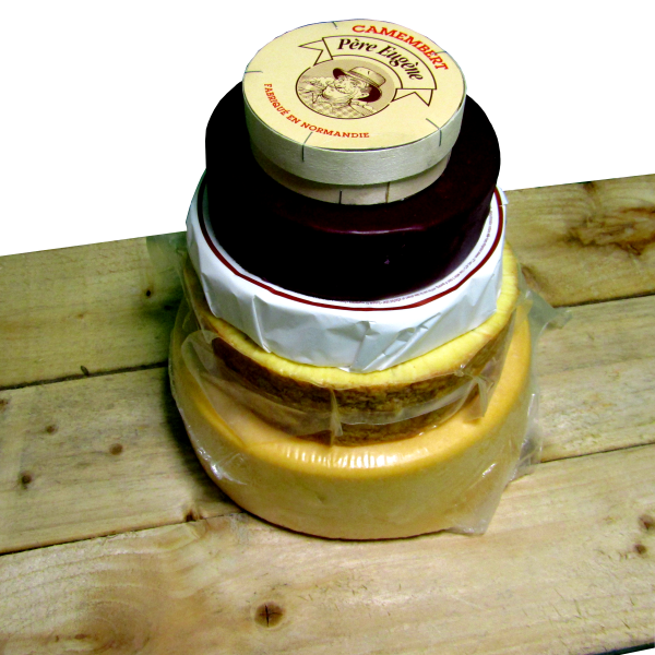 Cheese Wedding Cake Kit (8kg approx)