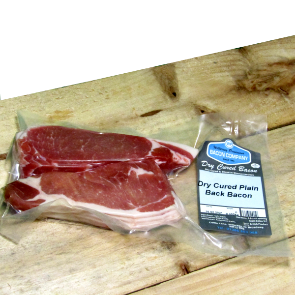 Dry Cure Gloucestershire Back Bacon 0.400kg