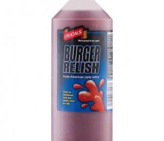 1 lt Crucial Burger Relish