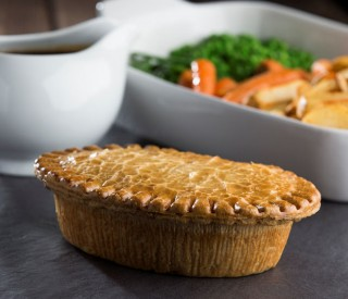 Family Chicken & Mushroom Pies x5 (wrapped)